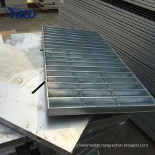 Q235 material 225 325 Hot dip galvanized metal floor grating mesh and car wash drain grating