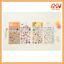 most lovely printable cartoon stickers,custom decoration stickers