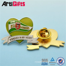 Classic style custom metal arabic numerals metal badge