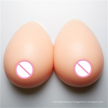 Fake boobs artificial silicone breast prosthesis for shemale and crossdresser
