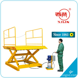 Xilin AL1 double hydraulic pump stationary lift cart