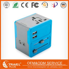 Exceptional Quality New Style Reasonable Pricing Universal Adaptor For Travel With Safety Shutter