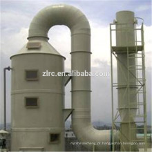 Processo abrangente de tratamento de gases residuais orgânicos Oxidante Térmico Regenerativo (RTO)