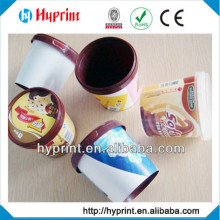 2015 hot sale custom IML In Mold Label for chocolate packing