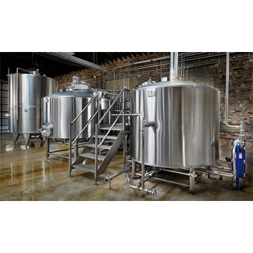 TIG Kimpalan Stainless Steel Brewery Equipment