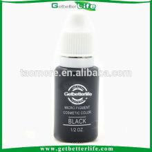 Getbetterlife permanente não tóxico 15ml preto elegante sobrancelha tinta