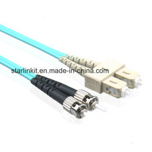 Cordon de correction de fibre optique Optical LC to St Om3 / Om4