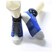 Уникальный Дизайн Красочные Хлопок Нескользящей Подошвой Детская Обувь Носки