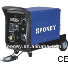 Ce approvde dc gaz et pas de matériel en acier au gaz mosfet mig co2 machine à souder avec accessoires-machine à souder à l'air chaud