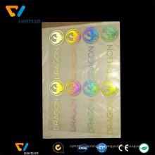 Película de vinil iridescente reflexiva de transferência de fabricante China