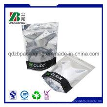 Пользовательские печати барьер влаги матовая ламинированная алюминиевая фольга упаковка сумка