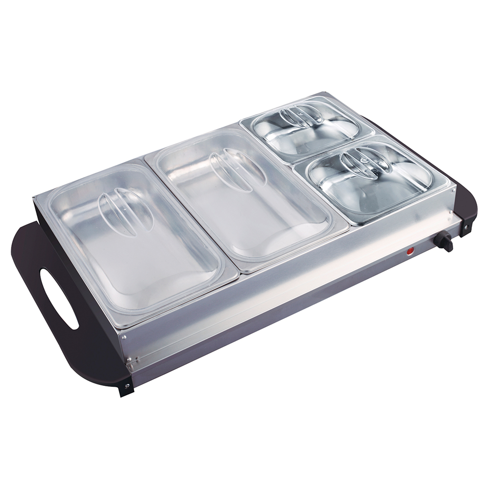 Professional hot plate food warmer