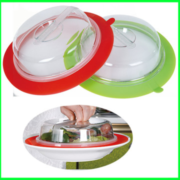 2016 Hot Selling Plate Cup Silikon Mikrowellenabdeckung