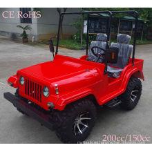 Mini Jeep de calidad 200cc con inversión CVT para adultos
