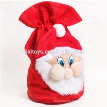 Bolso no tejido del regalo de la Navidad del diseño modificado para requisitos particulares venta caliente para los niños