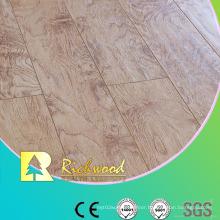 Commercial 8.3mm E1 HDF Embossed Elm V-Grooved Waterproof Laminated Flooring