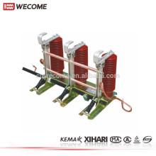 KEMA a témoigné le commutateur électrique de terre de l'appareillage à haute tension 1000mm 630A