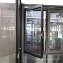 Thermal Break Aluminum Windows casement awning sliding folding european thermally broken bridge engery efficient aluminium door