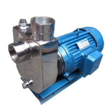 Stainless steel self priming chemical centrifugal pumps