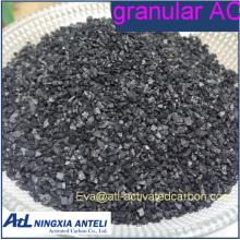 Carbón activado granular de grado alimenticio