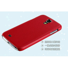 Металлизированный пластик резиновый Чехол Крышка телефона для Samsung S4 с
