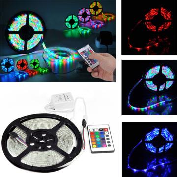 5050 color cambiando las tiras de LED luces de silicona LED