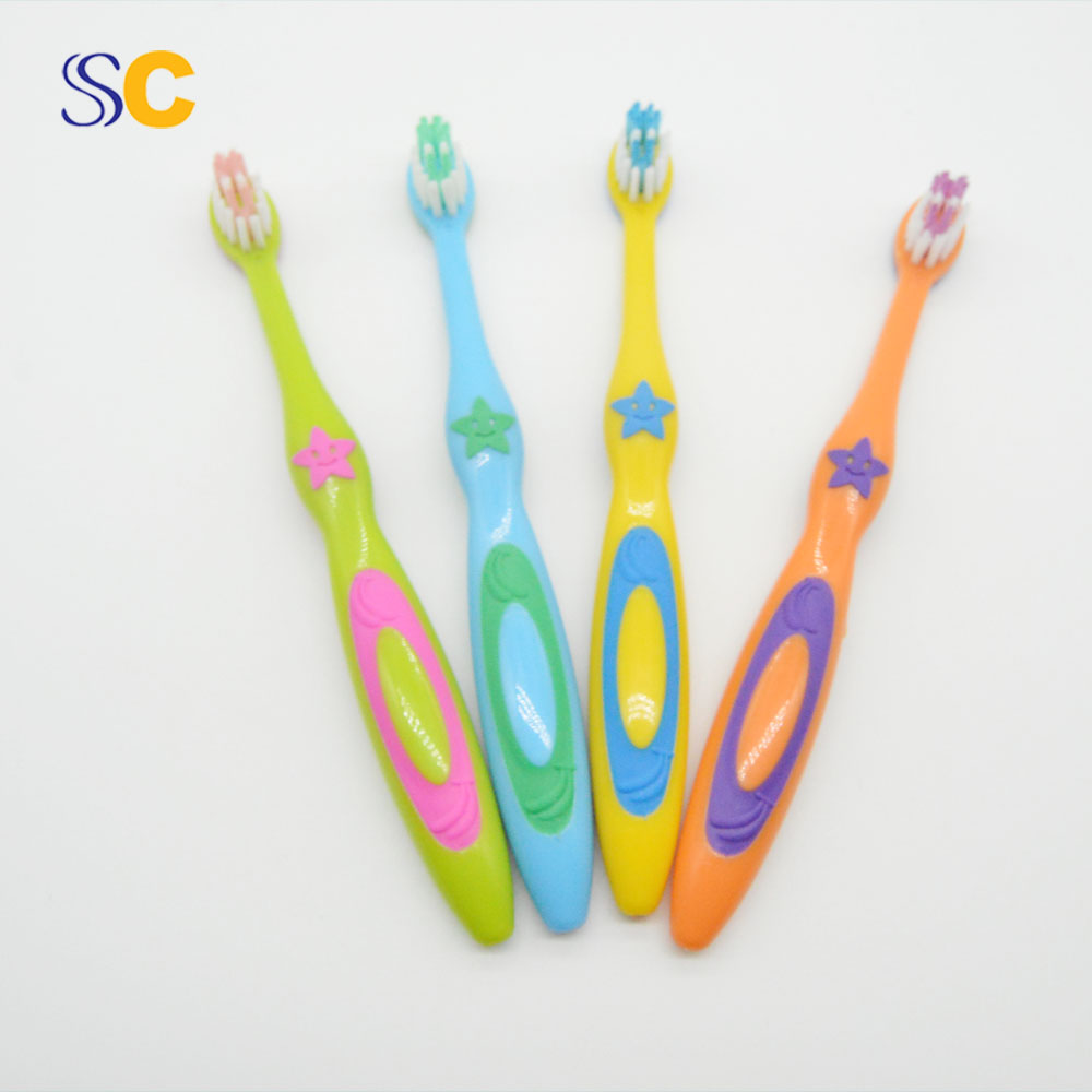 Fda Plastic Handle Patent Toothbrush For Kids