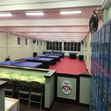 Indoor Portable Tennis Flooring PVC Vinyl Court Tiles