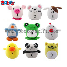 """4"""" Cute Plush Stuffed Animal Set Toy Puppy Toy with Squeaker Bosw1066/10cm"""