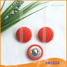 Couvre-boutons en tissu personnalisé de nouveau produit pour le vêtement BM1255