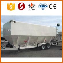 CE ISO Certifié 30M3 Ciment mobile Silo Horizontal Ciment Silo
