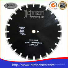 Asphalt Cutting: 400mm Diiamond Laser Welded Saw Blade for Asphalt