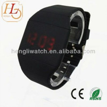 Popular Touch Screen LED Watch, Silicon Digital Watches (15024)