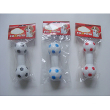 Dog Toy Vinyl Football Dumbbell Pet Products