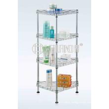 Unique Design Metal Bath Corner Shelf Rack for Home Use (CJ-C1186)