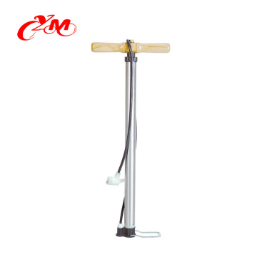 2017 Yimei air pump for bike and car have Accurate barometer /Floor type fat tire bike pump