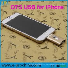 Brandly New Design OTG USB Flash Drive para iPhone (EO209)