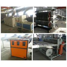 Chaîne de production de panneau de mousse de la publicité de PVC (SJSZ 65/132)