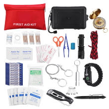 outdoor travel earthquake survival gear kit for family