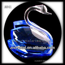 Nice Blue Crystal Swan A041