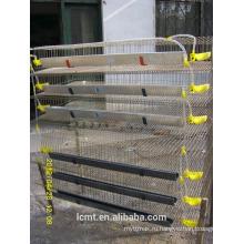 Перепелиные клетки, используемые производителями оборудования для перепелов слой