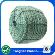 Corde de pêche tressée polyester couleur monofilament haute ténacité