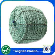 Alta tenacidade monofilamento cor poliéster corda de pesca trançada