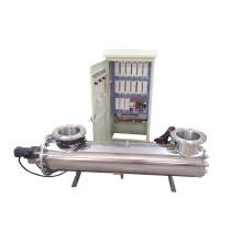 Esterilizador de agua ultravioleta desinfectando 99.99% de microorganismos nocivos