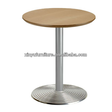 melamine top pub table with metal base XT7017