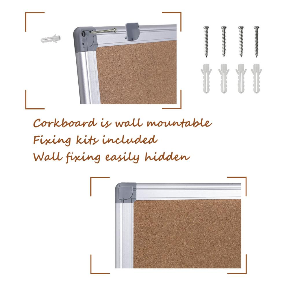 wall mount cork Bulletin board