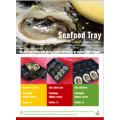 Встроенный Давлением, Термоформования Продвижение Высококачественных Фруктов Овощей Мяса Устриц Рыбной Промышленности Использовать Пластиковый Поднос Замороженных Продуктов Упаковывая