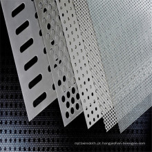 Aço carbono perfurado / malha de metal perfurada