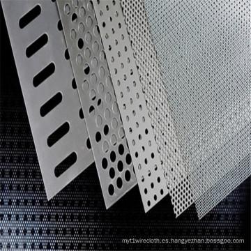 Acero al Carbono Perforado / Malla de Metal Perforada