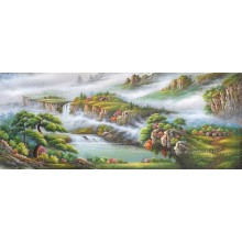 Художественная роспись естественного пейзажа впечатления (ETL-083)